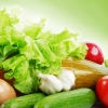 HEART DISEASE IS IMPROVED WHEN DIABETICS EAT VEGETABLES...