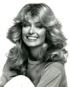Farrah Fawcett in1977